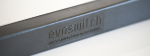 Embossed logo Evoswitch